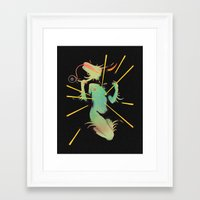 easter Framed Art Prints featuring Easter. by Space Jungle