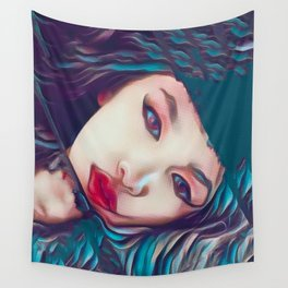 Glass Houses Wall Tapestry