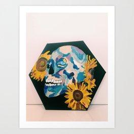 Eat paint Art Print