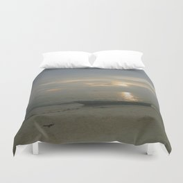 Calm and Cloudy Duvet Cover