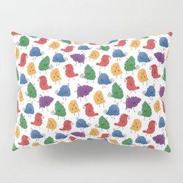 Doodle Birds Pattern Pillow Sham