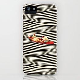 Illusionary Boat Ride 2 iPhone Case