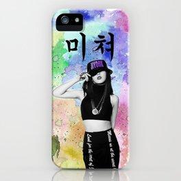 CRAZY 5 iPhone Case