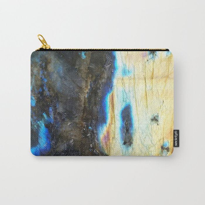 Labradorite Crystal Carry-All Pouch