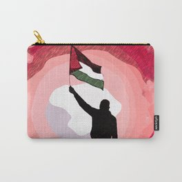 Free Palestine Flag P3 Carry-All Pouch