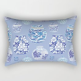 Chinoiserie Ginger Jar Collection No.6 Rectangular Pillow