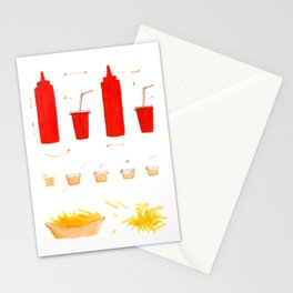 Free Fries Stationery Cards