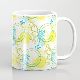 Swirls & Circles Coffee Mug