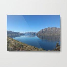 Lake Hawea New Zealand Metal Print