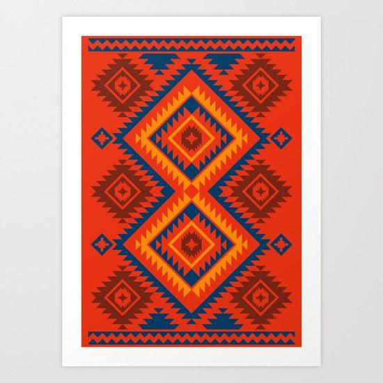 Navajo Eight Art Print