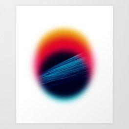 collision Art Print