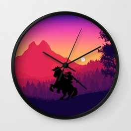 The Legend Wall Clock