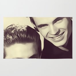 The Everly Brothers Rug