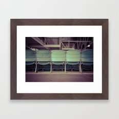 Wrigley Field Stadium Seats 2 Framed Art Print