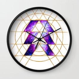 Nebula Hunter Sigil Wall Clock