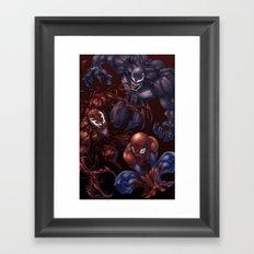 Spider, spider, spider Framed Art Print
