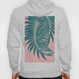 Palm Leaves Blush Summer Vibes #4 #tropical #decor #art #society6 Hoody