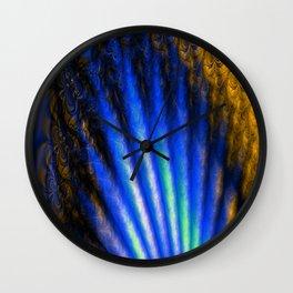 Fractal Shell Wall Clock