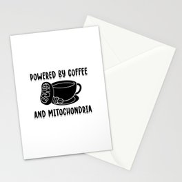 Coffee and Mitochondria | Biology Science Gifts Stationery Cards
