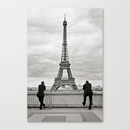 Business as Usual {in Paris} Canvas Print