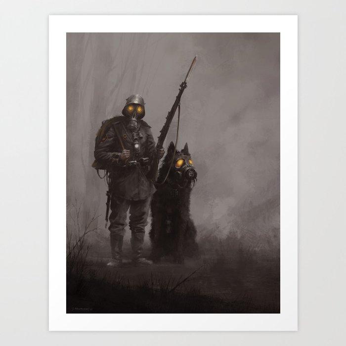 Infantryman Kunstdrucke