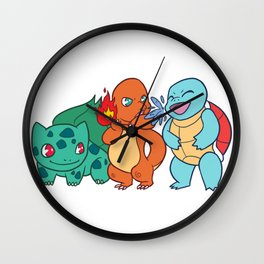 Kanto Bros Wall Clock