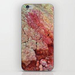 Red Clay Cliffs iPhone Skin