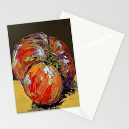 heirloom tomato Stationery Cards