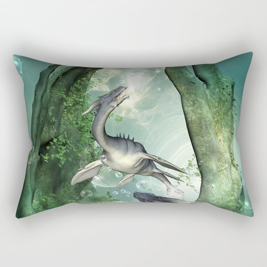Awesome seadragon Rectangular Pillow