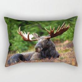 Relax Moose Rectangular Pillow