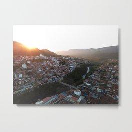 San Gil Sun Metal Print