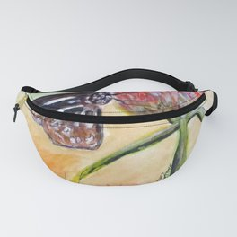 Erika Butterfly Two Fanny Pack