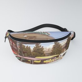 Drive thru old car Fanny Pack