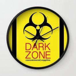 Dark Zone Supplies Wall Clock