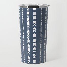 Dashed Lines Travel Mug