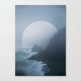 B+W New Zealand Coast II Canvas Print