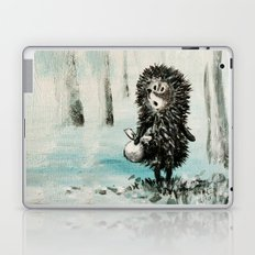 Hedgehog in the fog Laptop & iPad Skin
