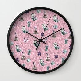 fairytale print Wall Clock
