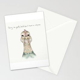 rooster tom Stationery Cards