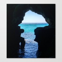 Cave of Hercules Canvas Print