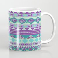 aztec Mugs featuring Aztec by Arcturus