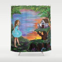 Fairy Play Shower Curtain