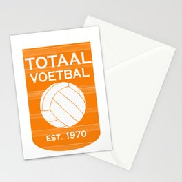 totaal voetbal est. 1970 Stationery Cards