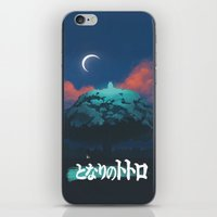 ghibli iPhone & iPod Skins featuring Ghibli print    by pHoran