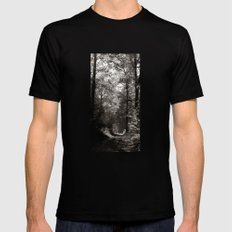 forrest II. Mens Fitted Tee Black SMALL