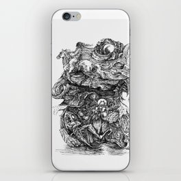 dreaming of escape iPhone Skin