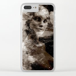 LIVING DOLL Clear iPhone Case