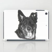 raven iPad Cases featuring Raven by Beth Thompson