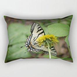 Yellow Butter #2 Rectangular Pillow