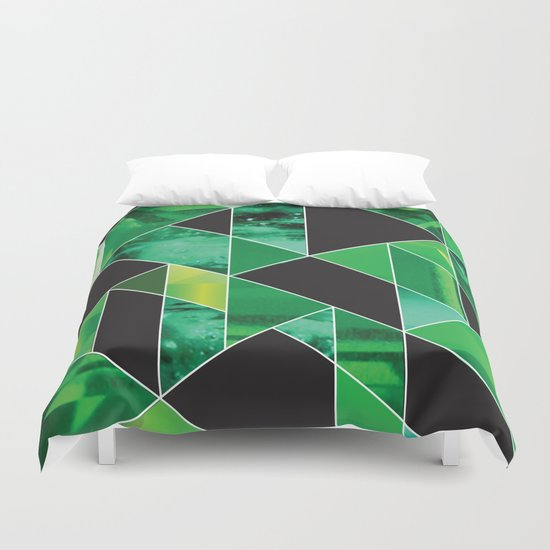 Emerald Duvet Cover